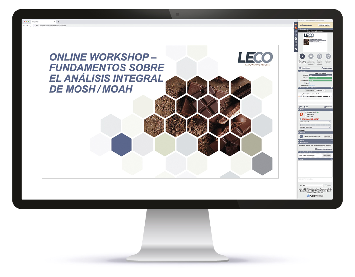 Online Workshop // Fundamentals on Comprehensive MOSH/MOAH Analysis Spain