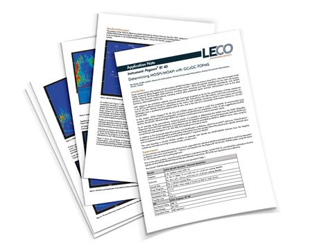 Nota de aplicación de LECO
