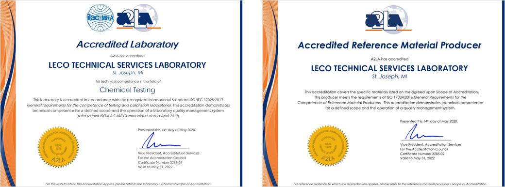 ISO/IEC 17025:2017 und ISO 17034:2016