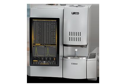 Analýza uhlíku a síry spalovací metodou spomocí přístroje CS844
