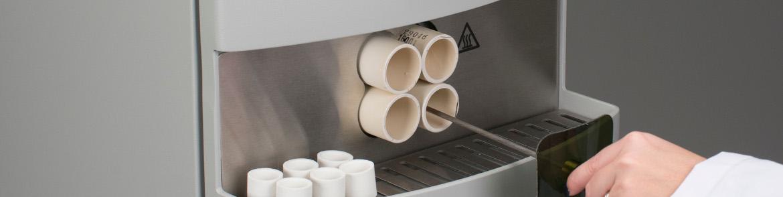 TF Лаборант серии вставляет тигель в трубчатую печь