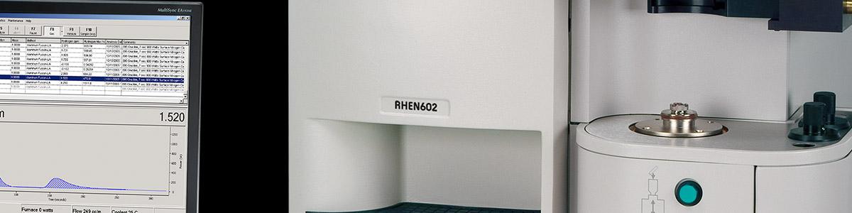 RHEN602 Inert Gas Fusion | Determinazione dell'idrogeno mediante fusione in gas inerte | LECO