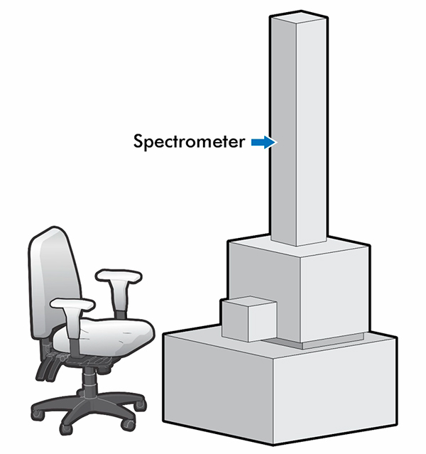 Tall Spectrometer 1973