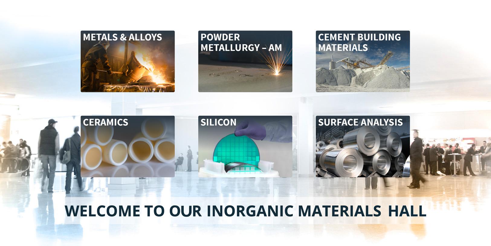 Wirtualne targi LECO // Materiały nieorganiczne