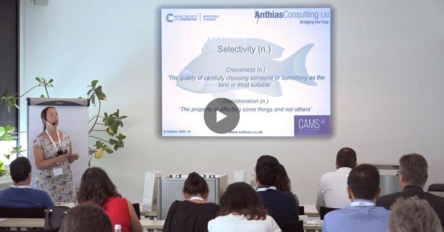 """""""Selektivität: Wann, wo und wie man sie nutzt"""" von Diane Turner beim LECO GCxGC Workshop und Symposium"""