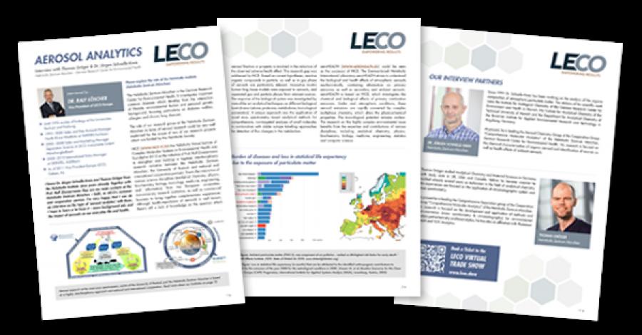 LECO e Helmholtz Institut München in collaborazione con Scienza della separazione