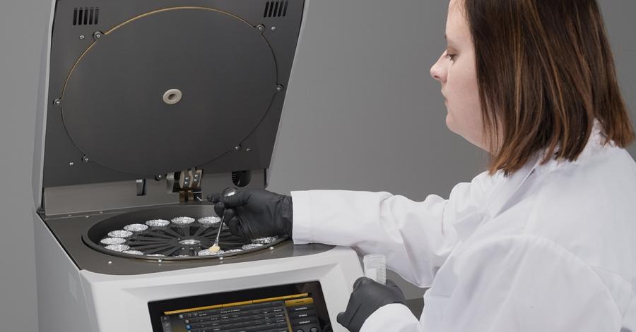 Méthodes standards de séchage au four par rapport à TGM800: Détermination de l'humidité directe