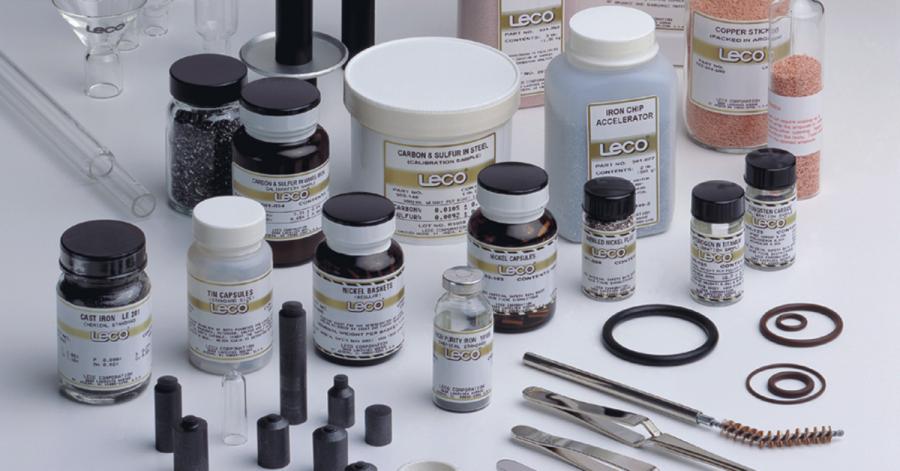 Zertifizierte Referenzmaterialien von LECO