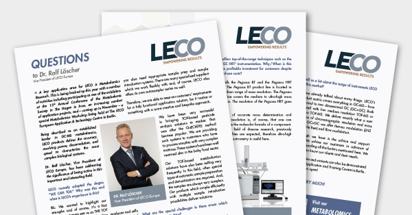 LECO in colaboration with Separation Science