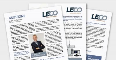 Společnost LECO a  oblast Separation Science