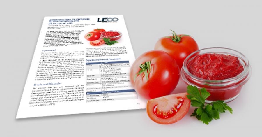 """""""Stanovení obsahu pesticidů v rajčatových produktech pomocí spektrometru GC×GC-TOFMS"""" – Společnost LECO s pomocí separační technologie"""