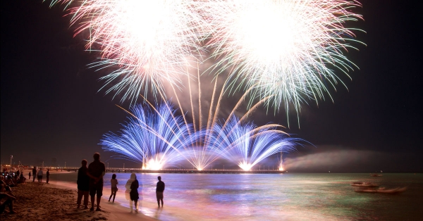 Of Fireworks and Tourism: GC×GC-HRMS Analysis of Summer Impacts on Lake Michigan Water Quality