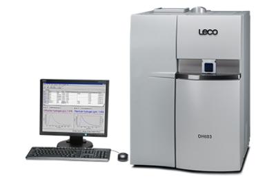 Анализатор DH603 по методу горячей экстракции  | Определение остаточного и диффузионного водорода  | LECO