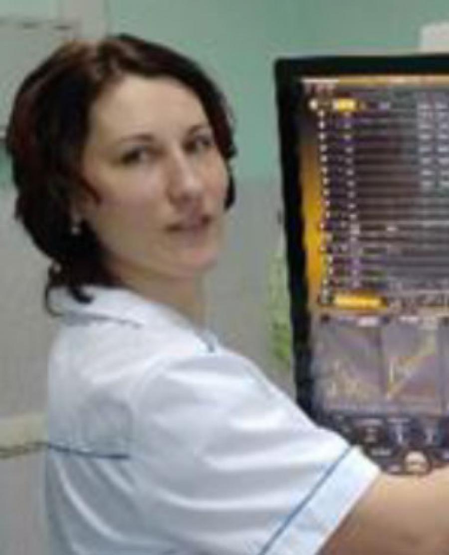 Anna Karchenko, vedoucí laboratoře