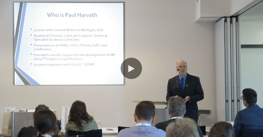 """Evaluación de aceites base oxidados por flujo modulado GC × GC-TOFMS"" por Paul Harvath"