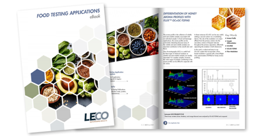 SeparationScience featuring LECO Food Testing Applications e-Book
