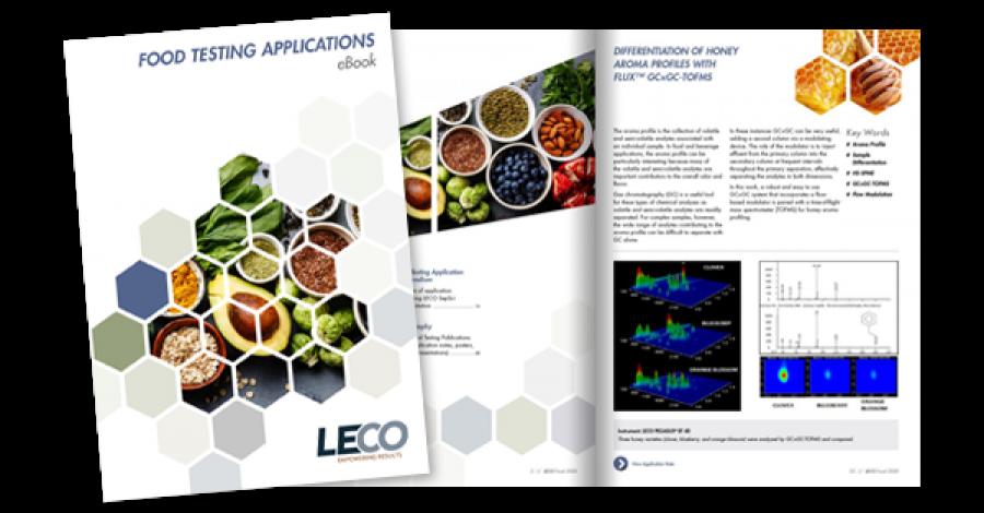 SeparationScience und das LECO eBook für Anwendungen zur Lebensmittelprüfung