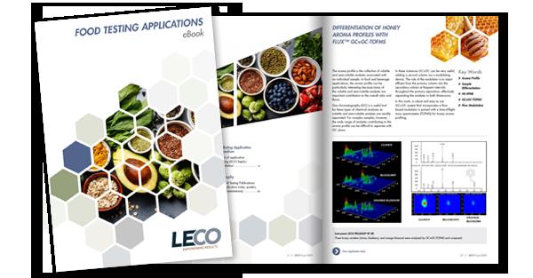 В разделе SeparationScience представлена электронная книга LECO с приложениями для анализа продуктов питания
