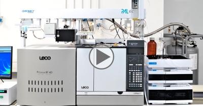 FILM: zaawansowany analizator MOSH/MOAH firmy LECO // NA ŻĄDANIE